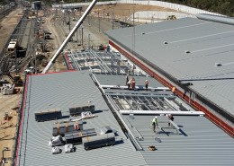 Wheel Lathe roof mount areas