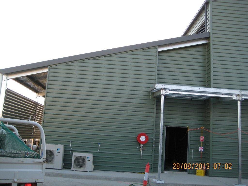 Glng Compressor Hub Buildings Qclad