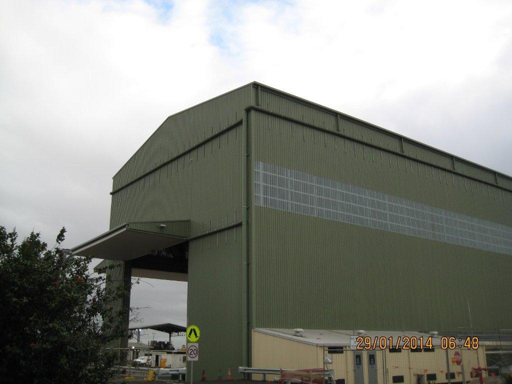 Hail Creek Heavy Vehicle Workshop Qclad